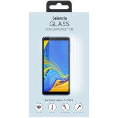 Selencia Displayschutz aus gehärtetem Glas Samsung Galaxy A7 (2018)