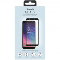 Selencia Displayschutz aus gehärtetem Glas Samsung Galaxy A6 (2018)