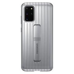 Samsung Protect Standing Cover Silber für das Galaxy S20 Plus