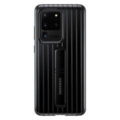 Samsung Protect Standing Cover Schwarz für das Galaxy S20 Ultra