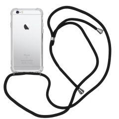 iMoshion Backcover mit Band Schwarz für das iPhone 6 / 6s