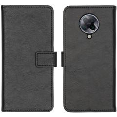 iMoshion Luxuriöse Buchtyp-Hülle Xiaomi Poco F2 Pro - Schwarz