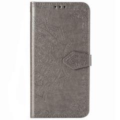 Mandala Booktype-Hülle Xiaomi Poco F2 Pro - Grau