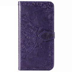 Mandala Booktype-Hülle Xiaomi Poco F2 Pro - Violett