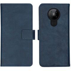 iMoshion Luxuriöse Buchtyp-Hülle Nokia 5.3 - Dunkelblau