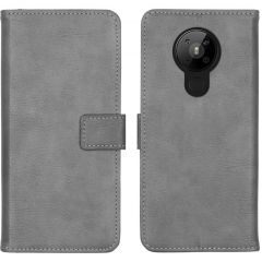 iMoshion Luxuriöse Buchtyp-Hülle Nokia 5.3 - Grau
