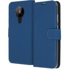Accezz Wallet TPU Booklet für das Nokia 5.3 - Dunkelblau