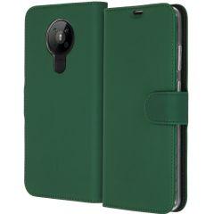 Accezz Wallet TPU Booklet für das Nokia 5.3 - Grün