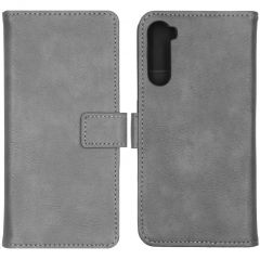 iMoshion Luxuriöse Buchtyp-Hülle OnePlus Nord - Grau
