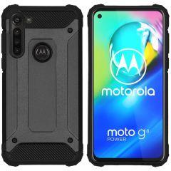iMoshion Rugged Xtreme Case Schwarz Motorola Moto G8 Power