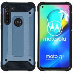 iMoshion Rugged Xtreme Case Dunkelblau Motorola Moto G8 Power