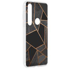 Design Silikonhülle für das Motorola Moto G8 Plus