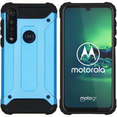 iMoshion Rugged Xtreme Case Hellblau für das Motorola Moto G8 Plus