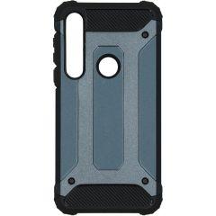 iMoshion Rugged Xtreme Case Dunkelblau für das Motorola Moto G8 Plus