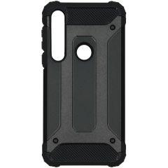iMoshion Rugged Xtreme Case Schwarz für das Motorola Moto G8 Plus