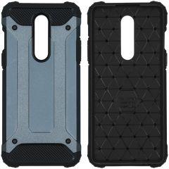 iMoshion Rugged Xtreme Case Dunkelblau OnePlus 8