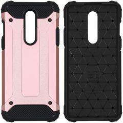 iMoshion Rugged Xtreme Case Roségold OnePlus 8