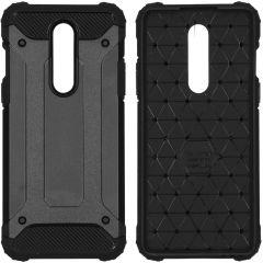 iMoshion Rugged Xtreme Case Schwarz OnePlus 8