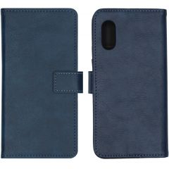 iMoshion Luxuriöse Buchtyp-Hülle Blau Samsung Galaxy Xcover Pro