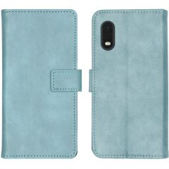 iMoshion Luxuriöse Buchtyp-Hülle Hellblau Samsung Galaxy Xcover Pro