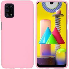 iMoshion Color TPU Hülle für das Samsung Galaxy M31s - Rosa