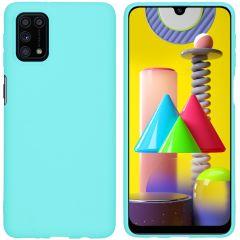 iMoshion Color TPU Hülle für das Samsung Galaxy M31s - Mintgrün