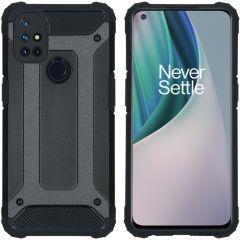 iMoshion Rugged Xtreme Case OnePlus Nord N10 5G - Schwarz