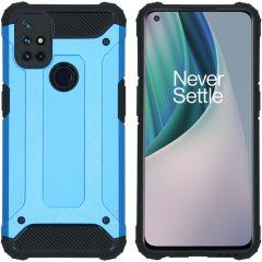 iMoshion Rugged Xtreme Case OnePlus Nord N10 5G - Hellblau