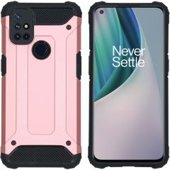 iMoshion Rugged Xtreme Case OnePlus Nord N10 5G - Roségold