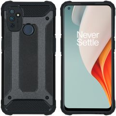 iMoshion Rugged Xtreme Case OnePlus Nord N100 - Schwarz