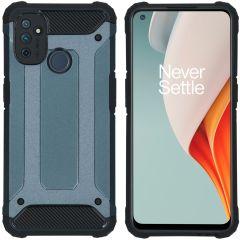 iMoshion Rugged Xtreme Case OnePlus Nord N100 - Dunkelblau