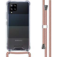 iMoshion Backcover mit Band Samsung Galaxy A42 - Roségold