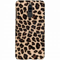 Leopard Design Hardcase-Hülle Braun für Huawei Mate 10 Lite