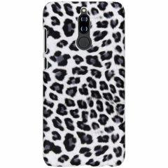 Leopard Design Hardcase-Hülle Weiß für Huawei Mate 10 Lite