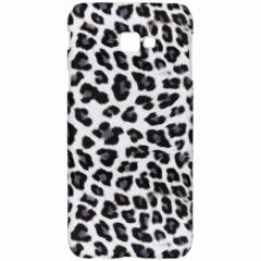 Leopard Design Hardcase-Hülle für das Samsung Galaxy J4 Plus