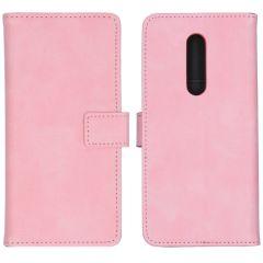 iMoshion Luxuriöse Buchtyp-Hülle Rosa OnePlus 8