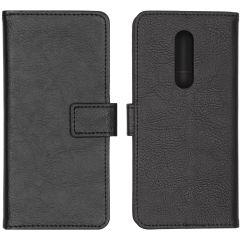 iMoshion Luxuriöse Buchtyp-Hülle Schwarz OnePlus 8