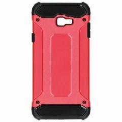 Rugged Xtreme Case Rot für das Samsung Galaxy J4 Plus