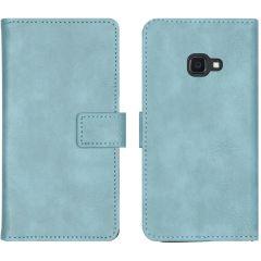 iMoshion Luxus Booktype Hülle Blau Samsung Galaxy Xcover 4 / 4S