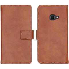 iMoshion Luxus Booktype Hülle Braun Samsung Galaxy Xcover 4 / 4S