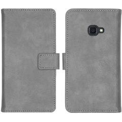 iMoshion Luxus Booktype Hülle Grau Samsung Galaxy Xcover 4 / 4S