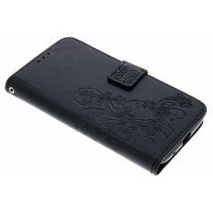 Kleeblumen Booktype Hülle für Motorola Moto E5 / G6 Play