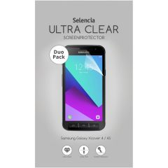 Selencia Duo Pack Ultra Clear Screenprotector Galaxy Xcover 4 / 4S
