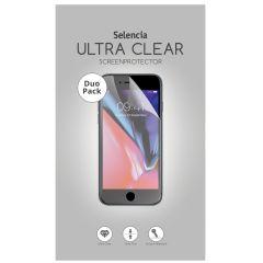 Selencia Duo Pack Ultra Clear Screenprotector Motorola Moto G7 Power