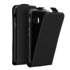 Accezz Schwarzer Flip Case für das Samsung Galaxy Xcover 4 / 4s
