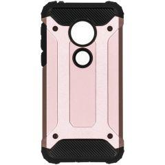 Rugged Xtreme Case Roségold für das Motorola Moto G7 Play
