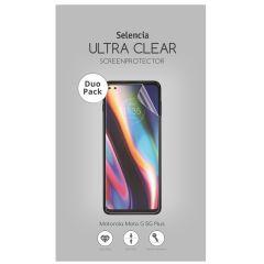 Selencia Duo Pack Screenprotector für das Motorola Moto G 5G Plus
