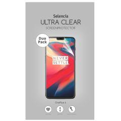 Selencia Duo Pack Ultra Clear Screenprotector OnePlus 6