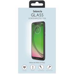 Selencia Displayschutz aus gehärtetem Glas für Motorola Moto G7 Play