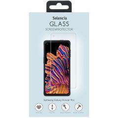 Selencia Displayschutz aus gehärtetem Glas Samsung Galaxy Xcover Pro